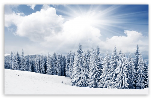 Winter Wallpaper Dual Screen Winter wallpaper