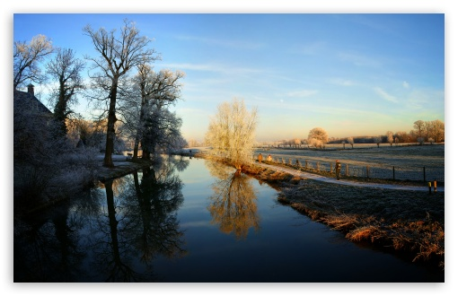 Winter - Kromme Rijn, Amelisweerd, Utrecht HD wallpaper for Wide 16:10 5:3 Widescreen WHXGA WQXGA WUXGA WXGA WGA ; HD 16:9 High Definition WQHD QWXGA 1080p 900p 720p QHD nHD ; UHD 16:9 WQHD QWXGA 1080p 900p 720p QHD nHD ; Standard 4:3 5:4 3:2 Fullscreen UXGA XGA SVGA QSXGA SXGA DVGA HVGA HQVGA devices ( Apple PowerBook G4 iPhone 4 3G 3GS iPod Touch ) ; Tablet 1:1 ; iPad 1/2/Mini ; Mobile 4:3 5:3 3:2 16:9 5:4 - UXGA XGA SVGA WGA DVGA HVGA HQVGA devices ( Apple PowerBook G4 iPhone 4 3G 3GS iPod Touch ) WQHD QWXGA 1080p 900p 720p QHD nHD QSXGA SXGA ;
