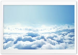 Winter Clouds HD Wide Wallpaper for Widescreen