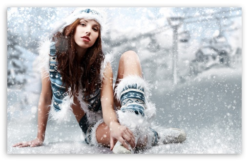 Winter Girl HD wallpaper for Wide 16:10 5:3 Widescreen WHXGA WQXGA WUXGA WXGA WGA ; HD 16:9 High Definition WQHD QWXGA 1080p 900p 720p QHD nHD ; Standard 4:3 5:4 3:2 Fullscreen UXGA XGA SVGA QSXGA SXGA DVGA HVGA HQVGA devices ( Apple PowerBook G4 iPhone 4 3G 3GS iPod Touch ) ; Tablet 1:1 ; iPad 1/2/Mini ; Mobile 4:3 5:3 3:2 16:9 5:4 - UXGA XGA SVGA WGA DVGA HVGA HQVGA devices ( Apple PowerBook G4 iPhone 4 3G 3GS iPod Touch ) WQHD QWXGA 1080p 900p 720p QHD nHD QSXGA SXGA ;
