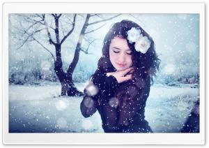 Winter Girl Ultra HD Wallpaper for 4K UHD Widescreen desktop, tablet & smartphone