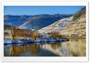 Winter Houses Brem Ultra HD Wallpaper for 4K UHD Widescreen desktop, tablet & smartphone
