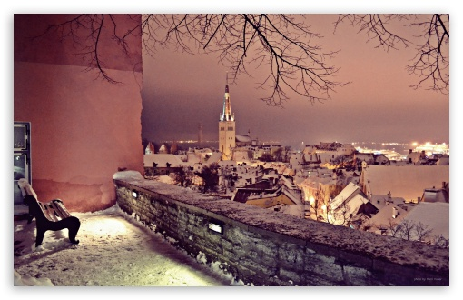 Winter in Tallinn HD wallpaper for Standard 4:3 Fullscreen UXGA XGA SVGA ; Wide 16:10 5:3 Widescreen WHXGA WQXGA WUXGA WXGA WGA ; HD 16:9 High Definition WQHD QWXGA 1080p 900p 720p QHD nHD ; Other 3:2 DVGA HVGA HQVGA devices ( Apple PowerBook G4 iPhone 4 3G 3GS iPod Touch ) ; Mobile VGA WVGA iPhone iPad PSP - VGA QVGA Smartphone ( PocketPC GPS iPod Zune BlackBerry HTC Samsung LG Nokia Eten Asus ) WVGA WQVGA Smartphone ( HTC Samsung Sony Ericsson LG Vertu MIO ) HVGA Smartphone ( Apple iPhone iPod BlackBerry HTC Samsung Nokia ) Sony PSP Zune HD Zen ; Tablet 2 Android 3 DVGA HVGA HQVGA devices ( Apple PowerBook G4 iPhone 4 3G 3GS iPod Touch ) ; Dual 4:3 16:10 5:3 16:9 UXGA XGA SVGA WHXGA WQXGA WUXGA WXGA WGA WQHD QWXGA 1080p 900p 720p QHD nHD ;