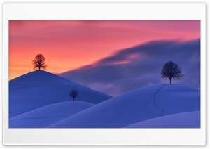 Winter Landscape HD Wide Wallpaper for 4K UHD Widescreen desktop & smartphone