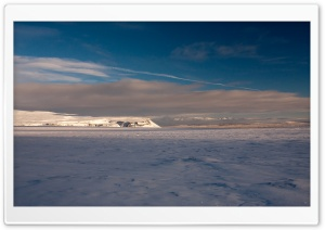 Winter Landscape, Iceland HD Wide Wallpaper for Widescreen