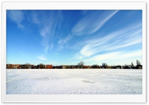Winter Landscape Nature 29 HD Wide Wallpaper for Widescreen