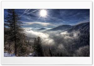 Winter Magnificence HD Wide Wallpaper for 4K UHD Widescreen desktop & smartphone