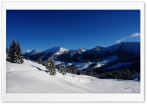 Winter Panorama HD Wide Wallpaper for Widescreen