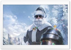 Winter Santa Claus PUBG Video Game Ultra HD Wallpaper for 4K UHD Widescreen desktop, tablet & smartphone