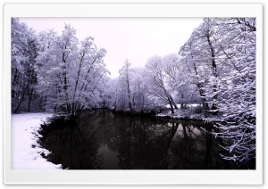 Winter Scenes 1 HD Wide Wallpaper for Widescreen