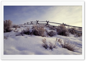 Winter Scenes 15 HD Wide Wallpaper for Widescreen