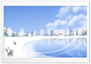 Winter Season 4 HD Wide Wallpaper for Widescreen