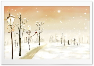 Winter Snow HD Wide Wallpaper for Widescreen
