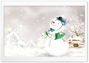 Winter Wonderland 6 HD Wide Wallpaper for Widescreen