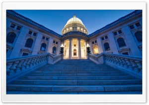 Wisconsin State Capitol HD Wide Wallpaper for 4K UHD Widescreen desktop & smartphone