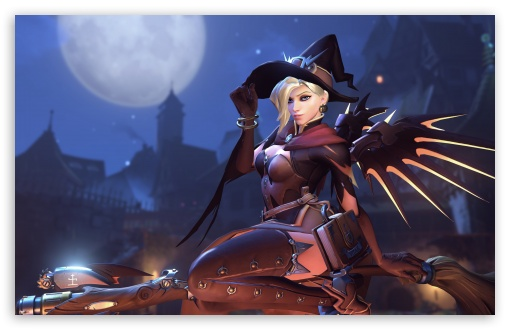 Witch Mercy HD wallpaper for Wide 16:10 5:3 Widescreen WHXGA WQXGA WUXGA WXGA WGA ; UltraWide 21:9 24:10 ; HD 16:9 High Definition WQHD QWXGA 1080p 900p 720p QHD nHD ; UHD 16:9 WQHD QWXGA 1080p 900p 720p QHD nHD ; Standard 4:3 5:4 3:2 Fullscreen UXGA XGA SVGA QSXGA SXGA DVGA HVGA HQVGA devices ( Apple PowerBook G4 iPhone 4 3G 3GS iPod Touch ) ; Smartphone 16:9 3:2 5:3 WQHD QWXGA 1080p 900p 720p QHD nHD DVGA HVGA HQVGA devices ( Apple PowerBook G4 iPhone 4 3G 3GS iPod Touch ) WGA ; Tablet 1:1 ; iPad 1/2/Mini ; Mobile 4:3 5:3 3:2 16:9 5:4 - UXGA XGA SVGA WGA DVGA HVGA HQVGA devices ( Apple PowerBook G4 iPhone 4 3G 3GS iPod Touch ) WQHD QWXGA 1080p 900p 720p QHD nHD QSXGA SXGA ; Dual 16:10 5:3 16:9 4:3 5:4 3:2 WHXGA WQXGA WUXGA WXGA WGA WQHD QWXGA 1080p 900p 720p QHD nHD UXGA XGA SVGA QSXGA SXGA DVGA HVGA HQVGA devices ( Apple PowerBook G4 iPhone 4 3G 3GS iPod Touch ) ; Triple 16:10 5:3 16:9 4:3 5:4 3:2 WHXGA WQXGA WUXGA WXGA WGA WQHD QWXGA 1080p 900p 720p QHD nHD UXGA XGA SVGA QSXGA SXGA DVGA HVGA HQVGA devices ( Apple PowerBook G4 iPhone 4 3G 3GS iPod Touch ) ;