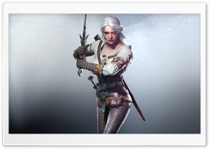 Witcher 3 Wild Hunt Ciri 2015 HD Wide Wallpaper for 4K UHD Widescreen desktop & smartphone