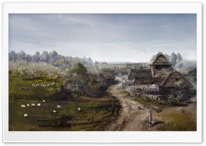 Witcher 3 Wild Hunt Concept Art HD Wide Wallpaper for Widescreen