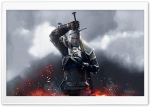 Witcher 3 Wild Hunt Geralt 2015 HD Wide Wallpaper for Widescreen