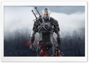 Witcher 3 Wild Hunt Geralt of Rivia 2015 Ultra HD Wallpaper for 4K UHD Widescreen desktop, tablet & smartphone