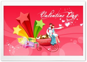 With Love Valentine's Day HD Wide Wallpaper for 4K UHD Widescreen desktop & smartphone