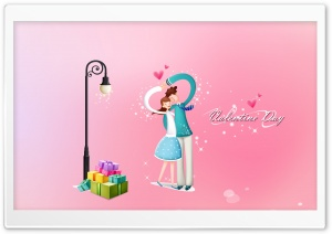 With Love Valentine's Day HD Wide Wallpaper for Widescreen