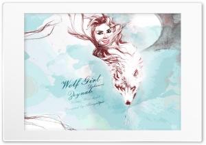 Wolf Girl Zeynab Dehnavi Ultra HD Wallpaper for 4K UHD Widescreen desktop, tablet & smartphone