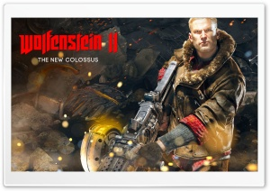 Wolfenstein 2 The New Colossus HD Wide Wallpaper for Widescreen
