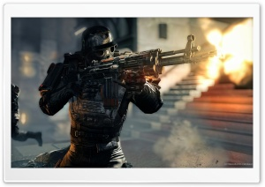 Wolfenstein The New Order 2014 HD Wide Wallpaper for Widescreen