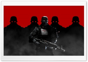 Wolfenstein The New Order Soldiers HD Wide Wallpaper for Widescreen