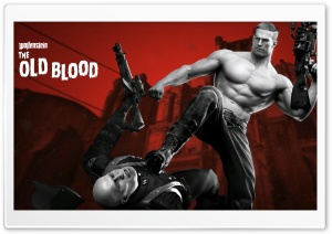Wolfenstein The Old Blood 2015 Game HD Wide Wallpaper for Widescreen