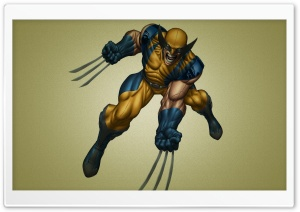Wolverine Comic HD Wide Wallpaper for Widescreen