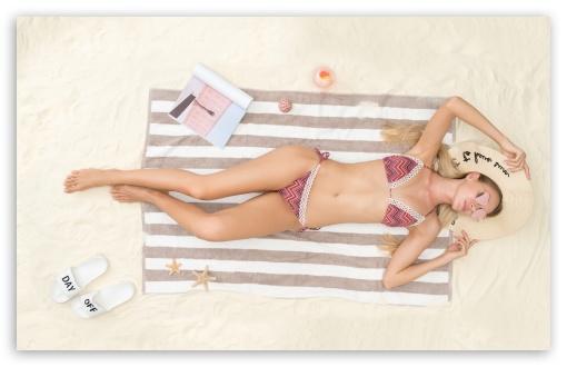 Woman Beach Sunbathe, Summer Holiday UltraHD Wallpaper for Wide 16:10 5:3 Widescreen WHXGA WQXGA WUXGA WXGA WGA ; 8K UHD TV 16:9 Ultra High Definition 2160p 1440p 1080p 900p 720p ; UHD 16:9 2160p 1440p 1080p 900p 720p ; Standard 4:3 3:2 Fullscreen UXGA XGA SVGA DVGA HVGA HQVGA ( Apple PowerBook G4 iPhone 4 3G 3GS iPod Touch ) ; iPad 1/2/Mini ; Mobile 4:3 5:3 3:2 16:9 - UXGA XGA SVGA WGA DVGA HVGA HQVGA ( Apple PowerBook G4 iPhone 4 3G 3GS iPod Touch ) 2160p 1440p 1080p 900p 720p ;