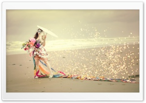 Woman Carnival HD Wide Wallpaper for 4K UHD Widescreen desktop & smartphone