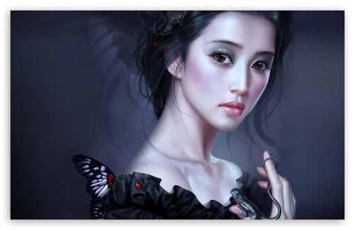 Woman In Black Painting HD wallpaper for Standard 4:3 5:4 Fullscreen UXGA XGA SVGA QSXGA SXGA ; Wide 16:10 5:3 Widescreen WHXGA WQXGA WUXGA WXGA WGA ; Other 3:2 DVGA HVGA HQVGA devices ( Apple PowerBook G4 iPhone 4 3G 3GS iPod Touch ) ; Mobile VGA WVGA iPhone iPad Phone - VGA QVGA Smartphone ( PocketPC GPS iPod Zune BlackBerry HTC Samsung LG Nokia Eten Asus ) WVGA WQVGA Smartphone ( HTC Samsung Sony Ericsson LG Vertu MIO ) HVGA Smartphone ( Apple iPhone iPod BlackBerry HTC Samsung Nokia ) ;