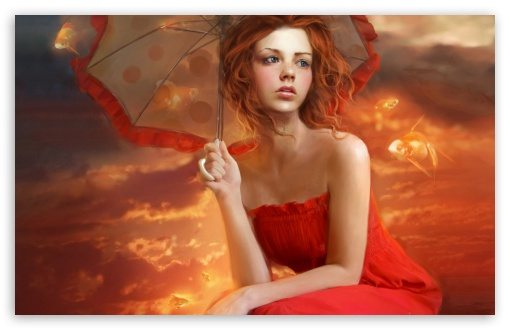 Woman In Red Dress Painting HD wallpaper for Wide 16:10 5:3 Widescreen WHXGA WQXGA WUXGA WXGA WGA ; HD 16:9 High Definition WQHD QWXGA 1080p 900p 720p QHD nHD ; Standard 4:3 5:4 3:2 Fullscreen UXGA XGA SVGA QSXGA SXGA DVGA HVGA HQVGA devices ( Apple PowerBook G4 iPhone 4 3G 3GS iPod Touch ) ; Tablet 1:1 ; iPad 1/2/Mini ; Mobile 4:3 5:3 3:2 16:9 5:4 - UXGA XGA SVGA WGA DVGA HVGA HQVGA devices ( Apple PowerBook G4 iPhone 4 3G 3GS iPod Touch ) WQHD QWXGA 1080p 900p 720p QHD nHD QSXGA SXGA ;