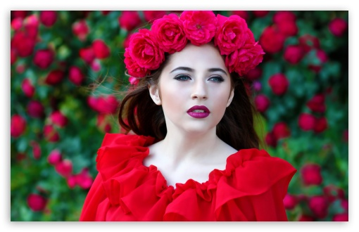 Woman in Red Dress, Red Roses Wreath ❤ 4K UHD Wallpaper for Wide 16:10 5:3 Widescreen WHXGA WQXGA WUXGA WXGA WGA ; UltraWide 21:9 24:10 ; 4K UHD 16:9 Ultra High Definition 2160p 1440p 1080p 900p 720p ; UHD 16:9 2160p 1440p 1080p 900p 720p ; Standard 4:3 5:4 3:2 Fullscreen UXGA XGA SVGA QSXGA SXGA DVGA HVGA HQVGA ( Apple PowerBook G4 iPhone 4 3G 3GS iPod Touch ) ; Smartphone 16:9 3:2 5:3 2160p 1440p 1080p 900p 720p DVGA HVGA HQVGA ( Apple PowerBook G4 iPhone 4 3G 3GS iPod Touch ) WGA ; Tablet 1:1 ; iPad 1/2/Mini ; Mobile 4:3 5:3 3:2 16:9 5:4 - UXGA XGA SVGA WGA DVGA HVGA HQVGA ( Apple PowerBook G4 iPhone 4 3G 3GS iPod Touch ) 2160p 1440p 1080p 900p 720p QSXGA SXGA ;