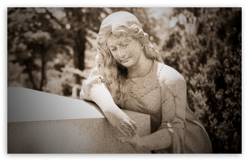 Woman Statue Cemetery HD wallpaper for Wide 16:10 5:3 Widescreen WHXGA WQXGA WUXGA WXGA WGA ; HD 16:9 High Definition WQHD QWXGA 1080p 900p 720p QHD nHD ; Standard 4:3 5:4 3:2 Fullscreen UXGA XGA SVGA QSXGA SXGA DVGA HVGA HQVGA devices ( Apple PowerBook G4 iPhone 4 3G 3GS iPod Touch ) ; Tablet 1:1 ; iPad 1/2/Mini ; Mobile 4:3 5:3 3:2 16:9 5:4 - UXGA XGA SVGA WGA DVGA HVGA HQVGA devices ( Apple PowerBook G4 iPhone 4 3G 3GS iPod Touch ) WQHD QWXGA 1080p 900p 720p QHD nHD QSXGA SXGA ;