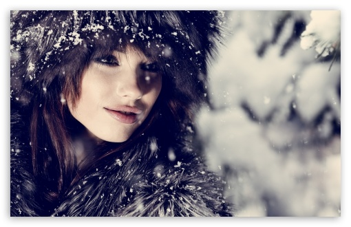Woman, Winter HD wallpaper for Standard 4:3 5:4 Fullscreen UXGA XGA SVGA QSXGA SXGA ; Wide 16:10 5:3 Widescreen WHXGA WQXGA WUXGA WXGA WGA ; HD 16:9 High Definition WQHD QWXGA 1080p 900p 720p QHD nHD ; Other 3:2 DVGA HVGA HQVGA devices ( Apple PowerBook G4 iPhone 4 3G 3GS iPod Touch ) ; Mobile VGA WVGA iPhone iPad PSP Phone - VGA QVGA Smartphone ( PocketPC GPS iPod Zune BlackBerry HTC Samsung LG Nokia Eten Asus ) WVGA WQVGA Smartphone ( HTC Samsung Sony Ericsson LG Vertu MIO ) HVGA Smartphone ( Apple iPhone iPod BlackBerry HTC Samsung Nokia ) Sony PSP Zune HD Zen ; Tablet 2 ;