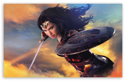 Wonder Woman 4K HD Desktop Wallpaper for Wide Ultra