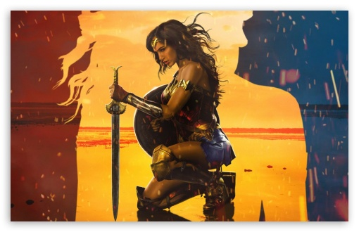Wonder Woman 4k Hd Desktop Wallpaper For 4k Ultra Hd Tv Wide