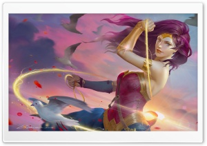 Wonder Woman Artwork HD Wide Wallpaper for 4K UHD Widescreen desktop & smartphone
