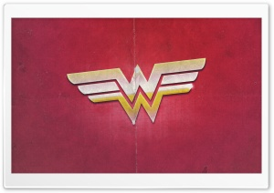 Wonder Woman Sign HD Wide Wallpaper for 4K UHD Widescreen desktop & smartphone