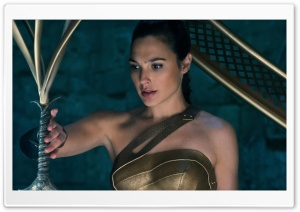 Wonder Woman Touching Her Sword HD Wide Wallpaper for 4K UHD Widescreen desktop & smartphone