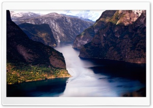 Wonderful Fjord HD Wide Wallpaper for Widescreen