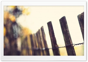 Wood Fence HD Wide Wallpaper for Widescreen
