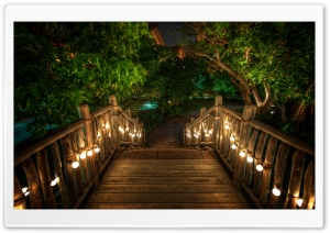 Wooden Bridge HD Wide Wallpaper for Widescreen