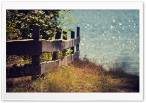 Wooden Fence HD Wide Wallpaper for Widescreen
