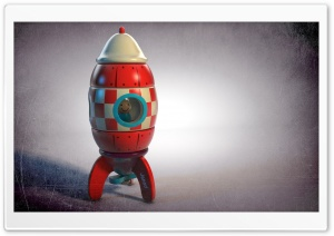 Wooden Rocket HD Wide Wallpaper for Widescreen