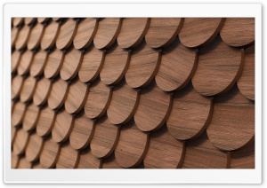 Wooden Shingles HD Wide Wallpaper for 4K UHD Widescreen desktop & smartphone